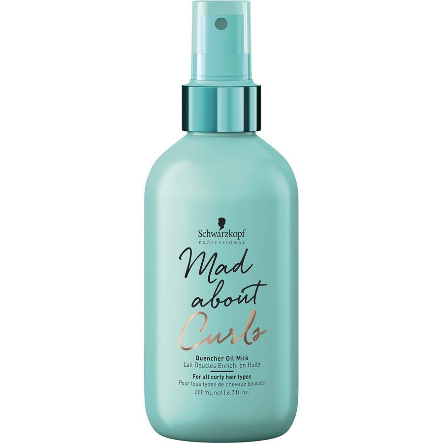 Молочко для укладки вьющихся волос SCHWARZKOPF Mad About Curls Quencher Oil Milk 200 мл
