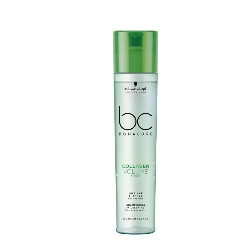 Мицеллярный шампунь для объёма SCHWARZKOPF BC Collagen Volume Boost Micellar Shampoo 250 мл