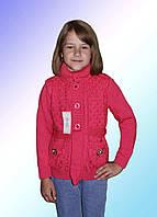 Кофта для девочки теплая м 9520, разные цвета
