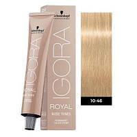 Краска для волос Schwarzkopf Igora Royal Nudes 60 мл 10-46 Экстра светлый блондин бежевый шоколадный