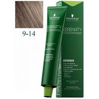 Стойкая безаммиачная краска для волос SCHWARZKOPF Essensity Permanent Colour 60 мл 9-14 Блондин сандрэ бежевый
