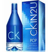 Мужская туалетная вода Calvin Klein IN2U Pop Man 100 ml  (Кельвин Кляйн Ин Ту Ю Поп Мэн)