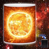 Чашка хамелеон Энергия солнца 330мл