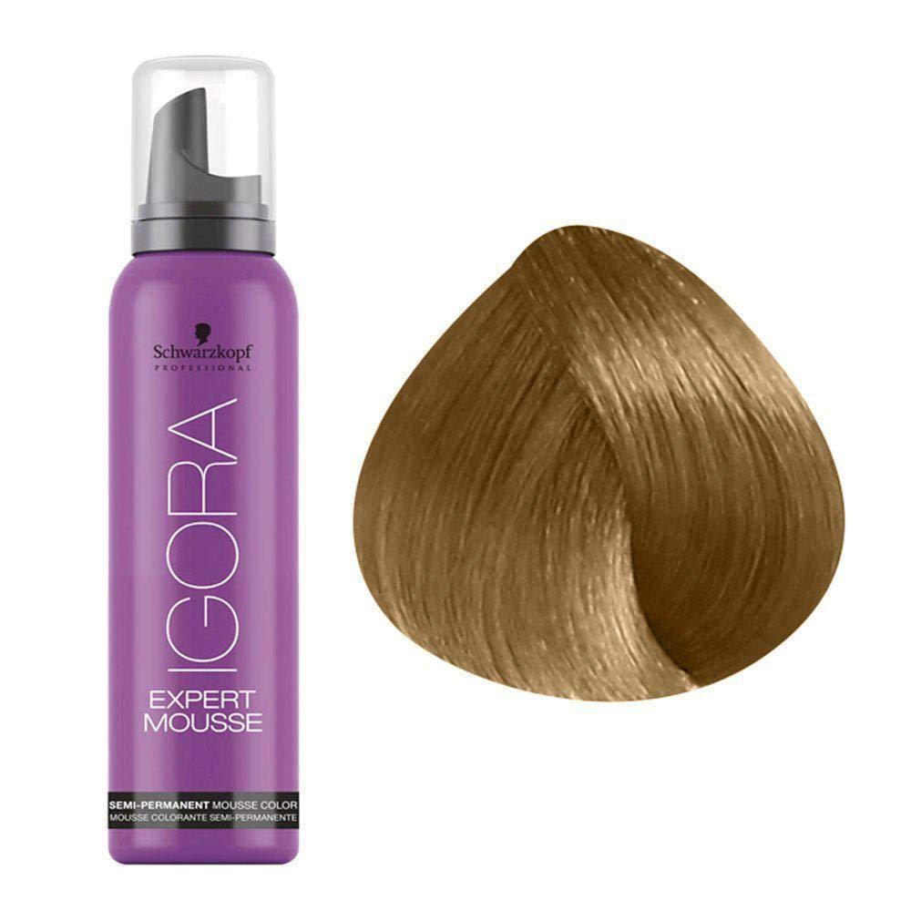 Тонирующий мусс для волос Schwarzkopf Professional Igora Expert Mousse 100 мл 9.5-55 Светлый блондин золотистый экстра