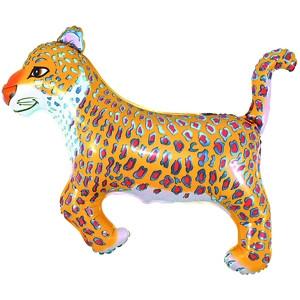 Фольгированный шар Леопард  74см х 103см