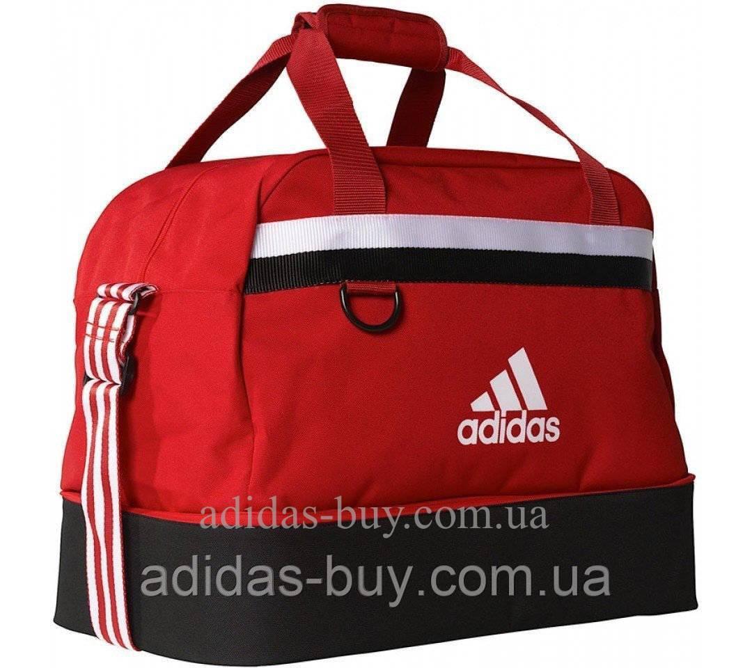 Дорожная футбольная сумка adidas TIRO TB BC M S13307 цвет: красный