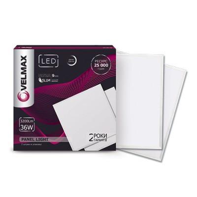 Светильник 36W LED Panel 595x595 6200К 3200LM VELMAX