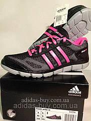 Кроссовки женские оригинал adidas climacool B33799, сетка легкие, цвет: черный