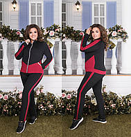 Женский спортивный костюм большого размера.Размеры:48-58.+Цвета, фото 1
