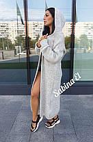 Кардиган женский вязанный, размеры 42-48, фото 2