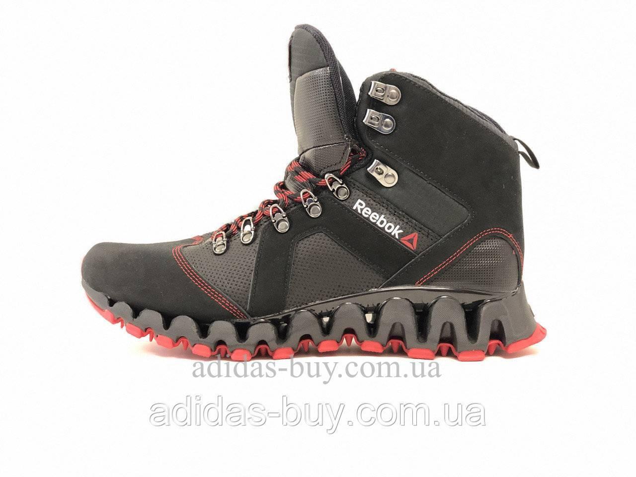 Ботинки мужские зимние оригинальные Reebok ZIGTRAIL MOBILIZE II MID V68804 цвет: черный