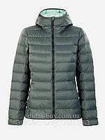 Куртка пуховик женская оригинальная adidas LIGHT DW HO AP8738 цвет: зеленый