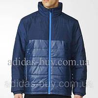 Мужская осенняя куртка adidas BC PAD JKT AZ0856 оригинальная цвет: темно-синий