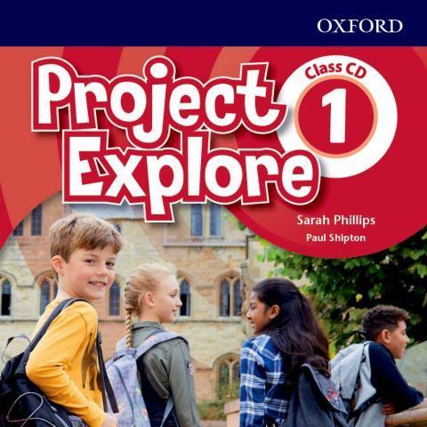 Project Explore 1 Class Audio CDs