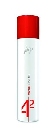 Лак-спрей экстрасильной фиксации для сложных причёсок Vitality's We-Ho Final Fix 300мл