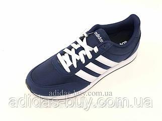 Кроссовки кеды мужские оригинальные adidas V Racer 2.0 повседневные B75795 цвет: синий