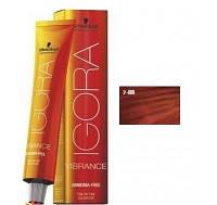 Безаммиачная краска для волос SCHWARZKOPF Igora Vibrance 60 мл 7-88 средний русый красный