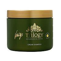 Шампунь с кремовой текстурой бессульфатный VITALITY'S Trilogy Cream Shampoo 450 мл