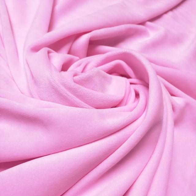 велюр розовый
