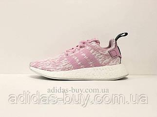 Кроссовки женские оригинальные Adidas NMD_R2 W BY9315 летние цвет: розовый