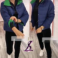 Куртка с плащовки