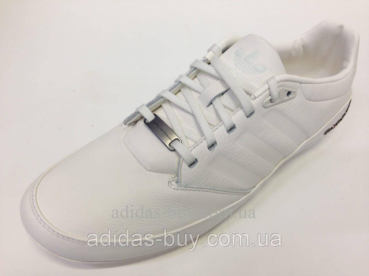 new arrival 48661 6b596 Кожаные мужские белые оригинальные кроссовки adidas Porsche Typ 64 2.0  M20587 из кожи