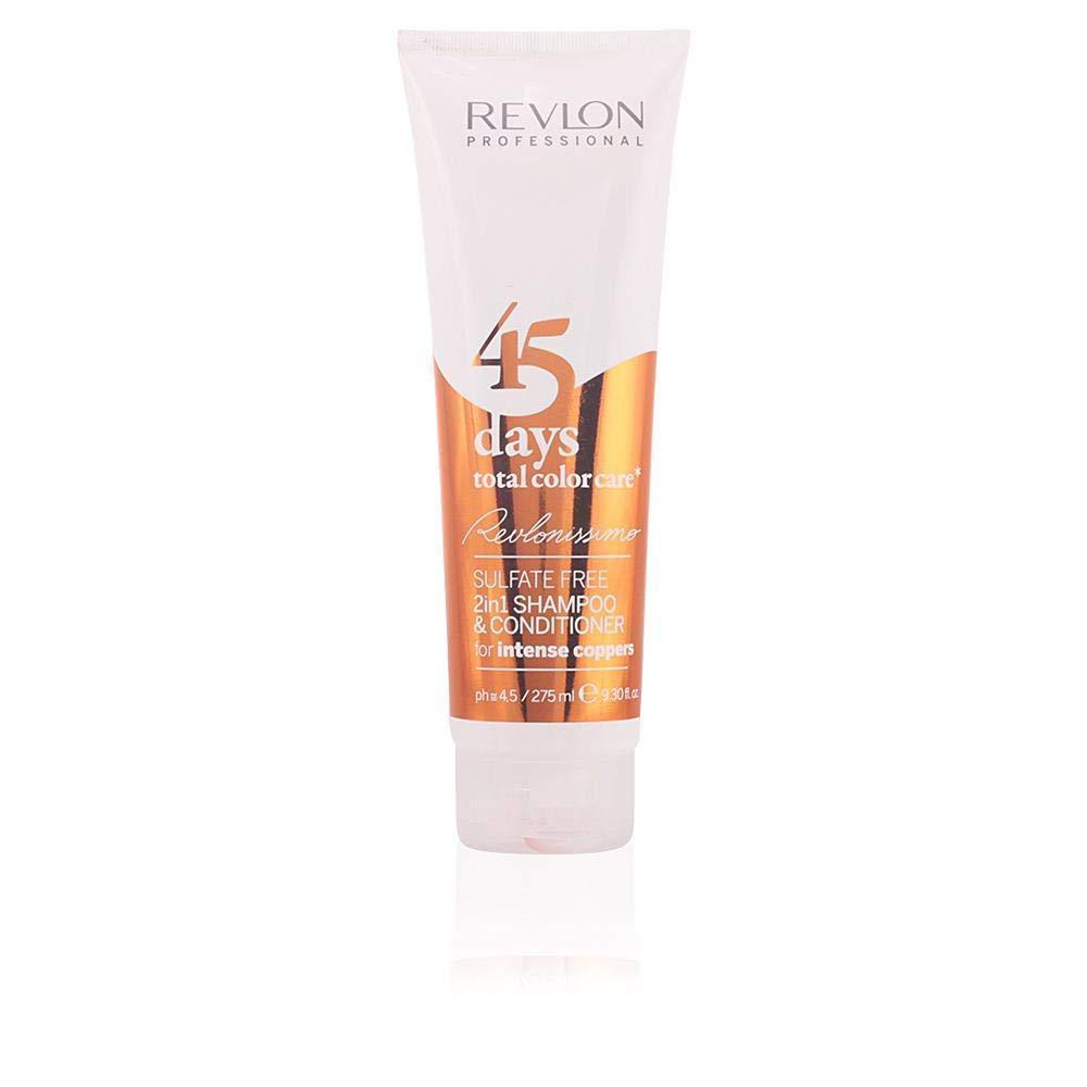 Шампунь-кондиционер для медных оттенков Revlon Professional Shampoo&Conditioner Intense Coppers 275 мл