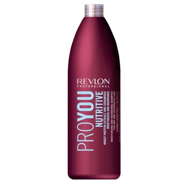 Шампунь питающий для сухих волос REVLON ProYou Nutririve Shampoo 1000 мл