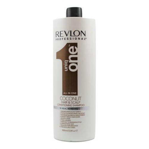 Шампунь-кондиционер с ароматом кокоса Revlon Professional Uniq One Conditioning Shampoo 1000 мл