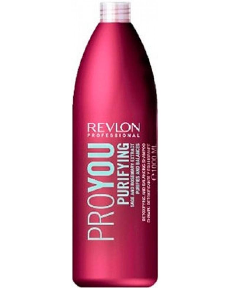 Шампунь очищающий REVLON ProYou Purifying Shampoo 1000 мл