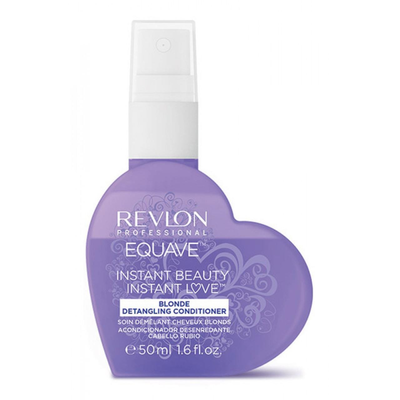 Кондиционер для блондированных и обесцвеченных волос несмываемый  Revlon Equave Instant Conditioner 50 мл