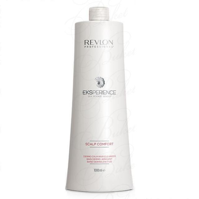 Успокаивающий шампунь REVLON Eksperience Scalp Comfort Dermo Calm Hair Cleanser 1000 мл