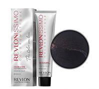 Краска для волос REVLON Revlonissimo Colorsmetique  60 мл №33.20 Темно-коричневый бургундский
