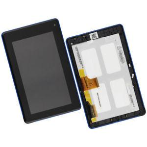 Дисплей для Acer B1-A71 Iconia Tab с тачскрином и рамкой черный, Оригинал