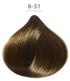Стойкая крем-краска DUCASTEL Subtil Creme 60мл 8-31 - Золотисто-пепельный светлый блондин