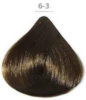 Стойкая крем-краска DUCASTEL Subtil Creme 60мл 6-3 - Золотистый тёмный блондин