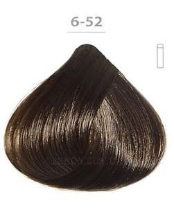 Стойкая гелевая краска DUCASTEL Subtil Gel 50мл 6.52 - Махагоново-перламутровый тёмный блондин