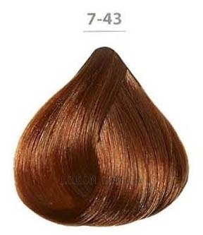 Стойкая крем-краска DUCASTEL Subtil Creme 60мл 7-43 - Медно-золотистый блондин