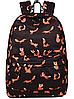 Рюкзак женский Лисы Черный