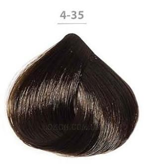 Стойкая крем-краска DUCASTEL Subtil Creme 60мл 4-35 - Золотисто-махагоновый шатен