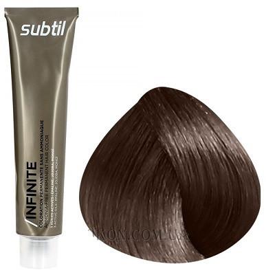 Стойкая безаммиачная краска для волос DUCASTEL Subtil Infinite 60 мл 5.12 - Светлый шатен пепельно-перламутровый