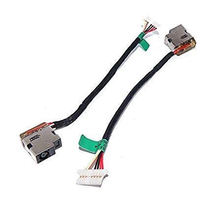 Разъем питания для ноутбука HP 15-A, 250 G4, 250 G5, 430 G3, 440 G3, 450 G3, 470 G3 с кабелем 8-pin (799736-t57) бу
