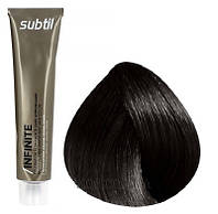 Стойкая безаммиачная краска для волос DUCASTEL Subtil Infinite 60 мл 4.77 - Шатен глубокий коричневый