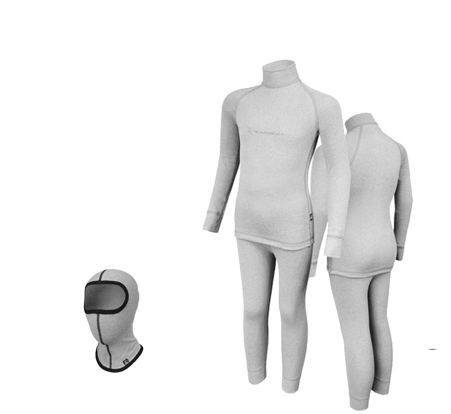 Комплект детского термобелья Radical Melange 116-122 Светло-серый