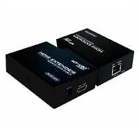 Удлинитель (передатчик) HDMI по одной Витой паре до 100 метров (MT-ED06)