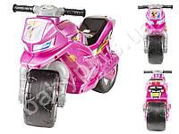 Каталка Спортивный мотоцикл двухколесный, цвет сиреневый. ORION 501-P