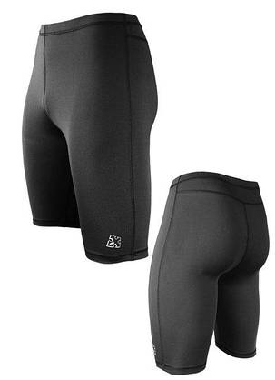 Спортивные мужские шорты-тайтсы Radical Raptor L Черный, фото 2