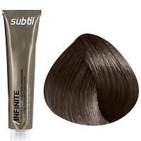 Стойкая безаммиачная краска для волос DUCASTEL Subtil Infinite 60 мл 4.3 - Шатен золотистый