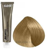 Стойкая безаммиачная краска для волос DUCASTEL Subtil Infinite 60 мл 9 - Очень светлый блондин