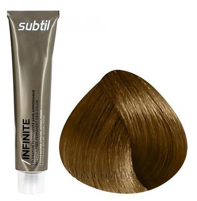 Стойкая безаммиачная краска для волос DUCASTEL Subtil Infinite 60 мл 8.3 - Светлый блондин золотистый